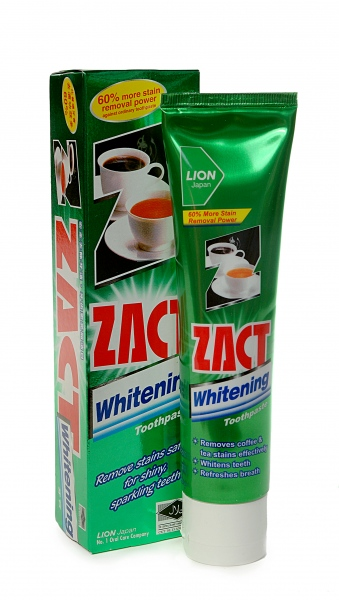 Зубная паста Zact «Whitening Toothpaste» 100 гр