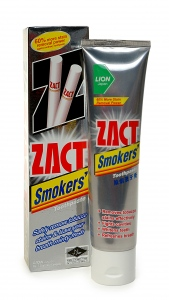 Зубная паста Zact «Smokers Toothpaste»